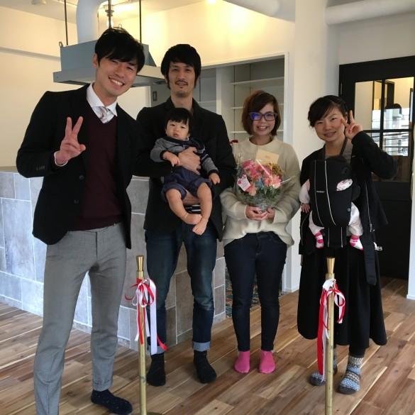 大阪・中古マンションを買ってリノベーションの引き渡し式